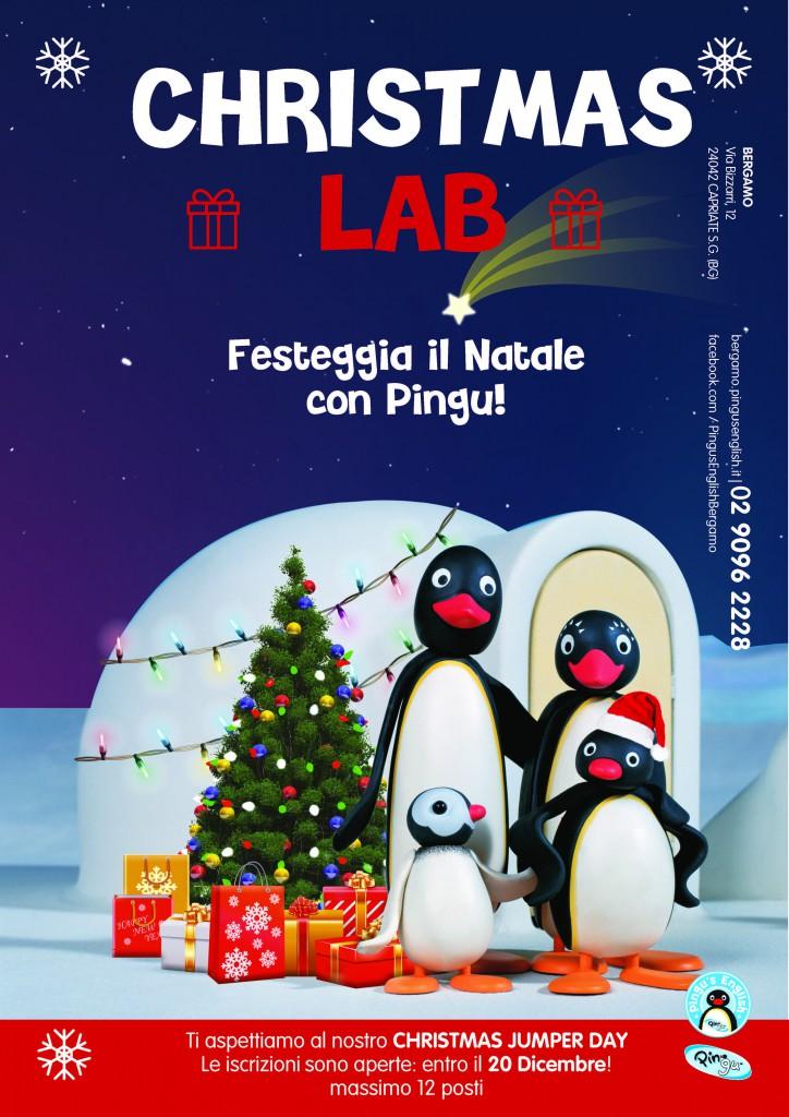 Christmas lab locandinaBergamo