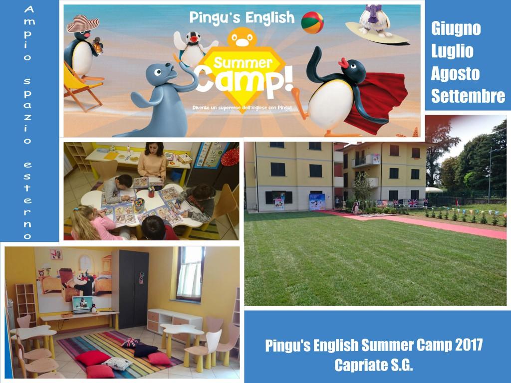 campo estivo pingu's english bergamo